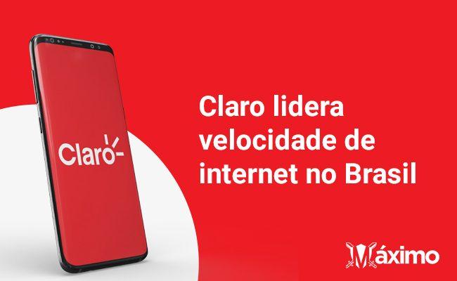 Velocidade de internet no Brasil: Claro é a mais veloz pelo segundo ano consecutivo